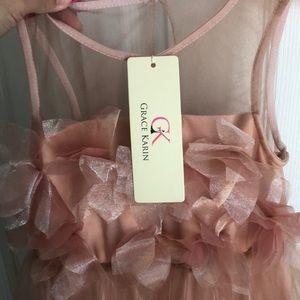 3f61ce8c7 Dresses | Size 6 Dusty Rose Flower Girl Dress Nwt | Poshmark